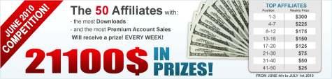 $21100 бонусов от SharingMatrix в июне 2010. Акция от Шарингматрикс
