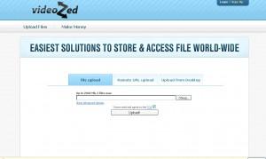 потоковый файлообменник VideoZed.net